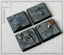Taban bases: dwarven hall square 40mm