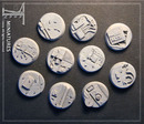 Taban bases: factory bases, round 25mm