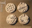 Taban bases: skull field, straigh 40mm