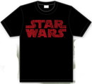 Camiseta star wars logo rojo s