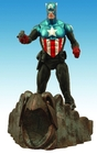 Figura capitan america marvel select 18 cms