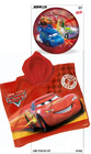 Set playa bolsa +poncho + balon cars