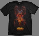 Wow camiseta cataclismo deathwing standing xl