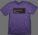 Wow camiseta epic purple xl