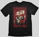 Wow camiseta garrosh wants you l