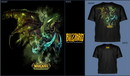 Wow camiseta illidian black temple xl