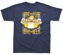 Camiseta the simpsons have a beer m