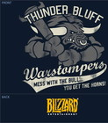 Wow camiseta thunder bluff warstompers m