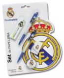 Set de papeleria real madrid en blister