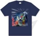 Camiseta mazinger z dc infierno azul s