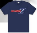 Camiseta mazinger z logo azul s