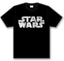 Camiseta star wars logo blanco s *superventas*