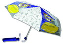 "Paraguas plegable real madrid infantil 21"" goool"
