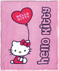 Manta polar hello kitty globo 130x160