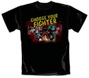 Camiseta mortal kombat choose your fighter talla m