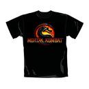Camiseta mortal kombat logo talla xl