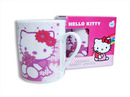 Taza taza hello kitty roja