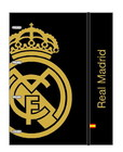 REAL MADRID FOLIO CARDBOARD RING BINDER WITH REFILL