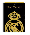 REAL MADRID CARDBOARD RING BINDER WITH FLAPS