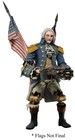 BIOSHOCK INFINITE ACTION FIGURE GEORGE WASHINGTON HEAVY HITTER P