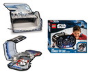 LEGO STAR WARS ZIPBIN STORAGE TOY CASE TIE FIGHTER