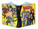 CARDFIGHT!!  VANGUARD 4-POCKET PORTFOLIO BLACK & WHITE PHASE 6