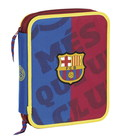 F.C. Barcelona MES-BIG DOUBLE PENCIL CASE 55 pcs.