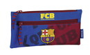 F.C. Barcelona MES-BIG PENCIL CASE WITH TWO ZIPPERS