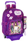 Violetta - RUCKSACK WITH WHEELS + PENCIL CASE