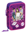 Violetta - SMALL DOUBLED FILLED PENCIL CASE 34 pcs.