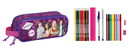 Violetta - DOUBLE FILLED PENCIL CASE 23 pcs.
