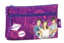 Violetta - BIG PENCIL CASE WITH TWO ZIPPERS