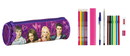 Violetta - FILLED OVAL PENCIL CASE 17 PCS