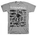 CAMISETA TITANFALL CHOOSE YOUR WEAPON S
