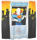 SUPERMAN SHOWER CURTAIN CABIN