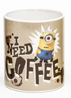 TAZA MINIONS I NEED A COFFEE