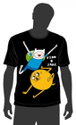 T-SHIRT ADVENTURE TIME JAKE AND FINN XXL