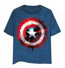 CAPTAIN AMERICA T-SHIRT- SHIELD XXL