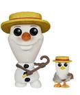 POP! DISNEY: FROZEN BARBERSHOP OLAF WITH SEAGULL