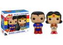 POP HOMEWARES SALT AND PEPPER SETS DC COMICS SUPERMAN AND WONDER