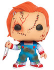 POP MOVIES: BRIDE OF CHUCKY SCARRED CHUCKY