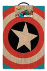 DOORMAT CAPTAIN AMERICA SHIELD 40 X 60