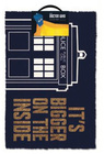 DOORMAT DR.WHO 40 X 60