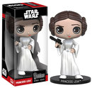 STAR WARS WACKY WOBBLER BOBBLE-HEAD LEIA 15 CM