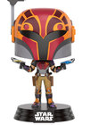 POP STAR WARS: STAR WARS REBELS SABINE IN HELMET - LIMITED