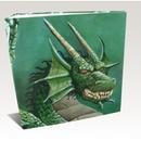 ALBUM 3 ANILLAS HARDBACK DRAGON SHIELD GREEN