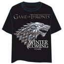 GAME OF THRONES T-SHIRT- STARK LOGO XXL
