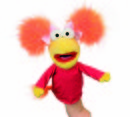 MARIONETA FRAGGLE ROCK ROSI (RED)