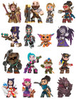 DISPLAY MINI FIGURITAS LEAGUE OF LEGENDS (12)