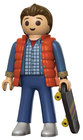 FIGURA PLAYMOBIL FUNKO BACK TO FUTURE MARTY 15 CM